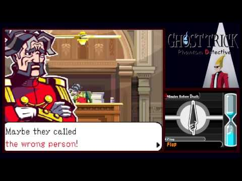Let's Play Ghost Trick: Phantom Detective [10] The Justice Minister