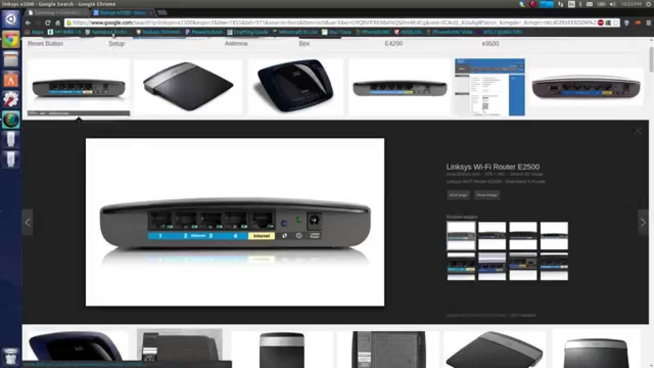 how to connect to linksys e2500