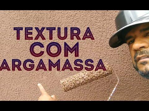 TEXTURA FEITO COM ARGAMASSA E XADREZ, FÁCIL E BARATO.