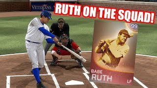 99 Immortal Babe Ruth is on the Squad! - MLB The Show 18 Diamond Dynasty Battle Royale Gameplay
