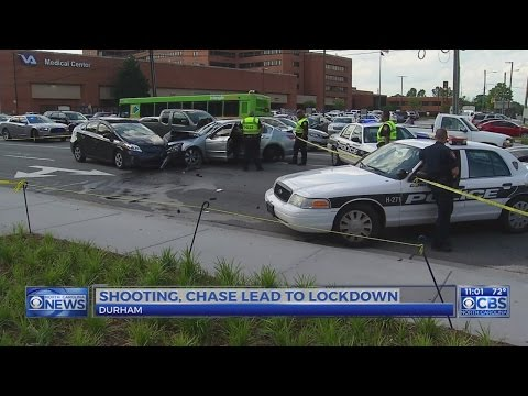 2 on the run after Durham shooting and crash during police chase