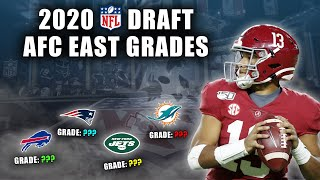 2020 NFL Draft Grades | All 7-Rounds | AFC East