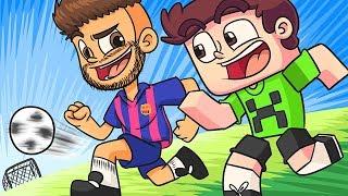 NEYMAR NO MINECRAFT !! - Minecraft Futebol