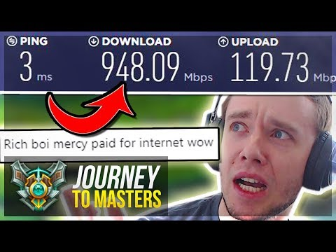 NEW OP INTERNET, NEW ME - MASTERS LET'S GO..PROMOS!! - Journey To Masters | League of Legends