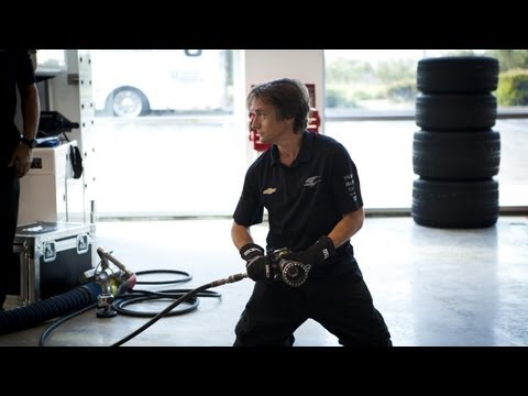 Richard Hammond Changes IndyCar Tire  CRASH COURSE Sneak Peek NEW BBC America