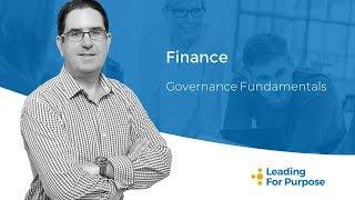 Non Profit Board Finance Considerations
