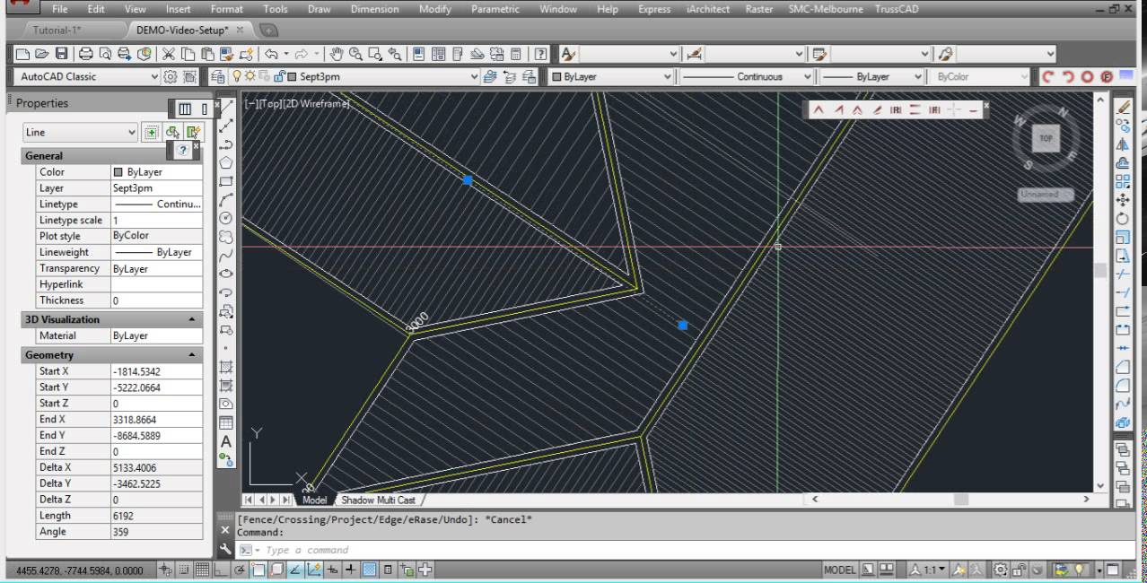 2d Shadow Diagrams In Autocad With Shadow Multi Cast Plug