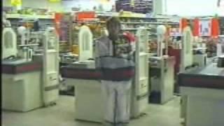 """Supermarket camouflage"" - Laurent La Gamba 2002"