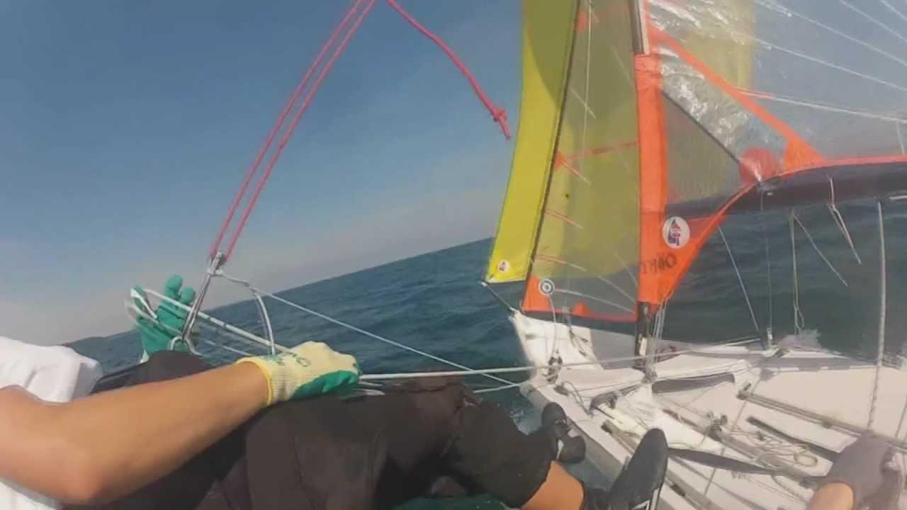 29er sailing in Marseille GOPRO - YouTube
