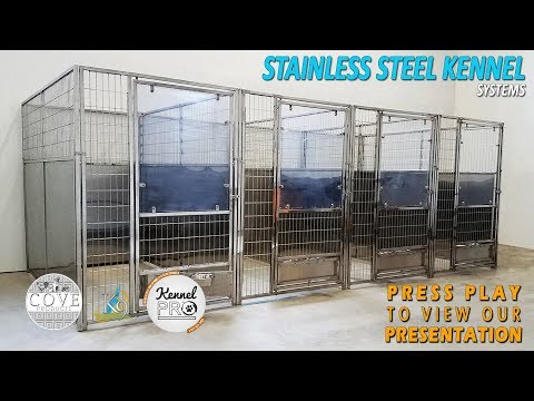 High Quality Stainless Steel Dog Kennel  Systems
