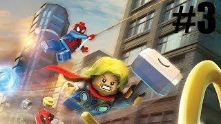 Hawkeye ! : Lego Marvel Super Heroes Walkthrough Playthrough Part 3 Gameplay PS3 XBOX360 PC