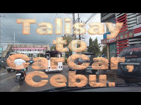 Talisay to Carcar, Cebu.  HD 1080p