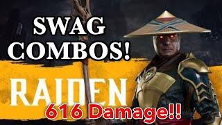 MK11 Raiden Combo Video [Mortal Kombat 11]