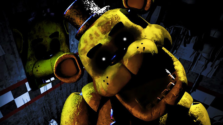 five nights at freddys sister location  golden freddy mode