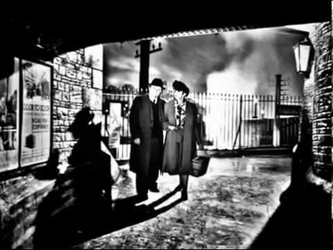BRIEF ENCOUNTER 1945 STANDING IN WITH CELIA JOHNSON AND TREVOR HOWARD