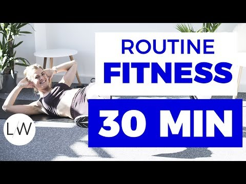 Routine Fitness sans matériel (30 min) - FITNESS STUDIO BY L