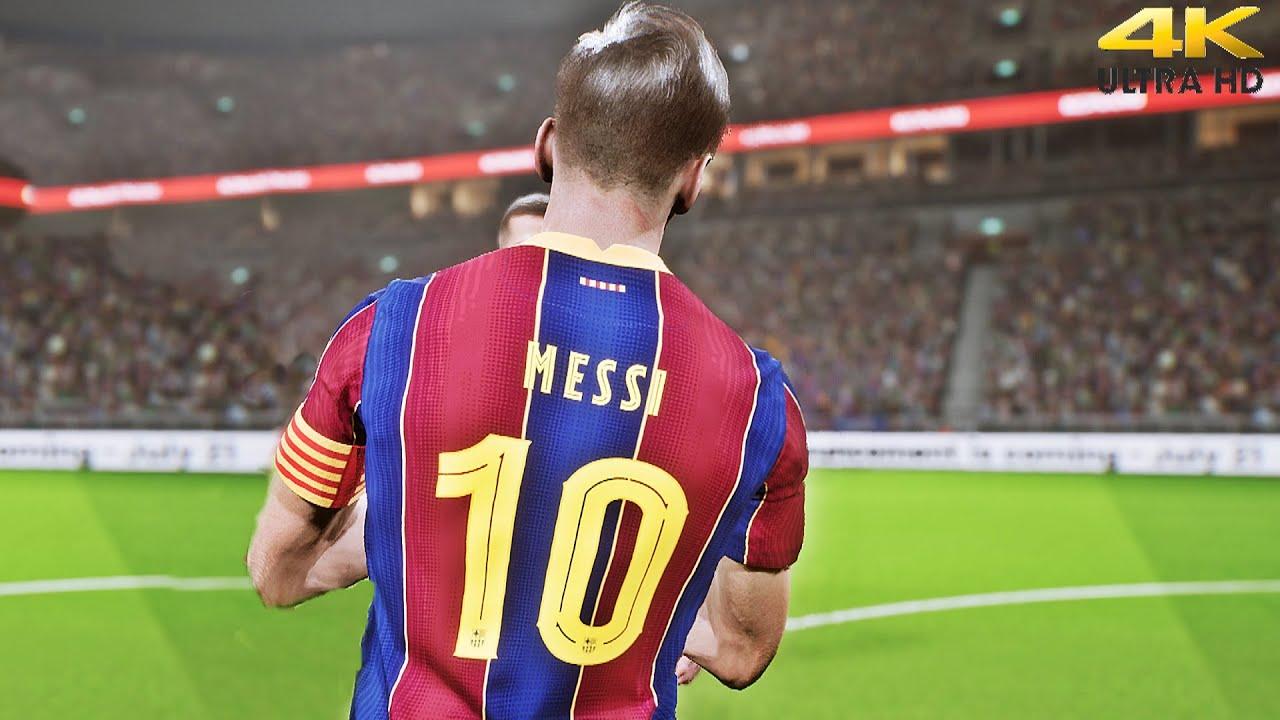 eFootball - [PS5] Beta Gameplay - Juventus vs Barcelona   4K HDR