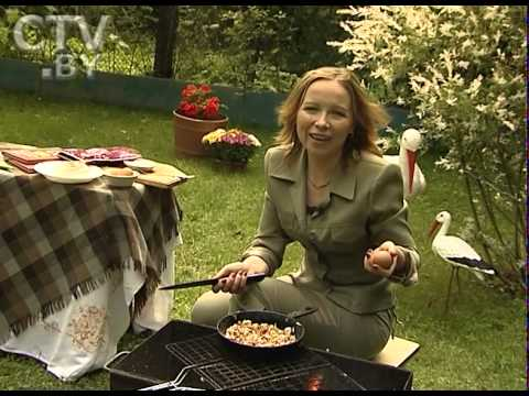 CTV.BY: Белорусская кухня: готовим яичницу с хреном и творогом