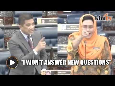 Deputy minister refuses to answer Azmin's question in Parliament