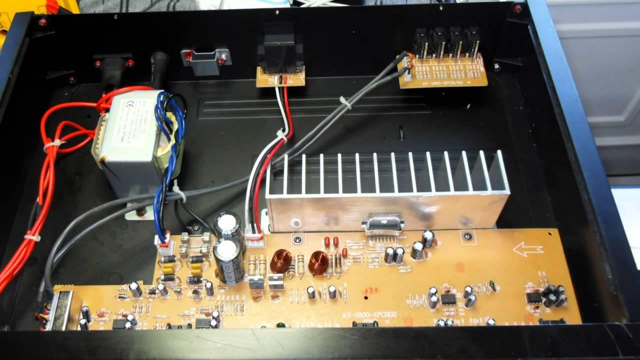 Edis EA1128 Amplifier Repair