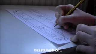 Drawing A Virgin Trains Dvt