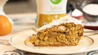 Greek Tahini Cake: Vegan Recipe!