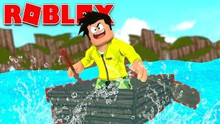 * OMG * BUILDS AN INVISIBLE BOAT IN ROBLOX: BUILD A BOAT FOR TREASURE