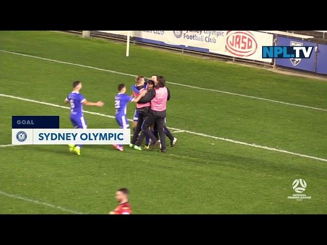 NPL NSW Men's Round 16 – Sydney Olympic v Sydney FC