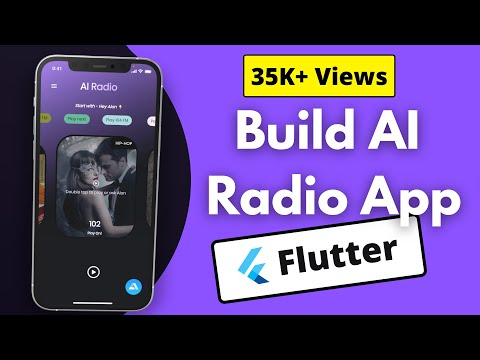Build an AI - Powered Voice Assistant Flutter Radio App   Android   iOS   Web
