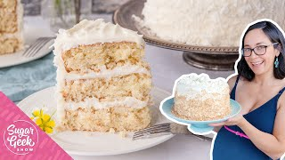 The most delicious and fluffy Southern Coconut Cake Recipe