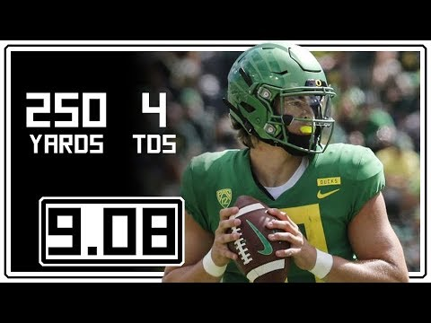 Big games could put Justin Herbert, Bryce Love in Heisman picture: Issues & Answers