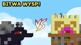 WYSPA OBSYDIANU VS WYSPA NOOBÓW NA BEDWARS! Tritsus & Dealereq
