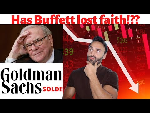 Why Did Warren Buffett Sell Goldman Sachs??...What Is He Buying??