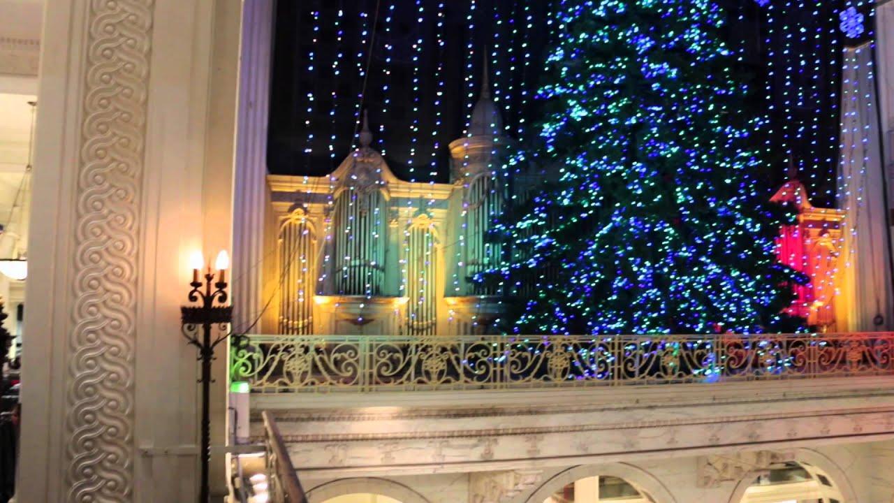 macys christmas light show in philadelphia