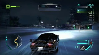 NEED FOR SPEED CARBON #6: HELLO WOLFIE GETTING A BIT TO CLOSE FOR COMFORT HUH?!!