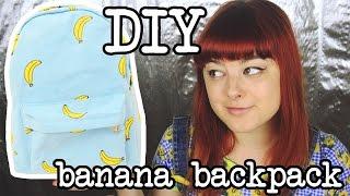 DIY Banana Backpack | Make Thrift Buy #9