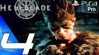 HELLBLADE Senua's Sacrifice - Gameplay Walkthrough Part 4 - Darkness Beast (PS4 PRO)