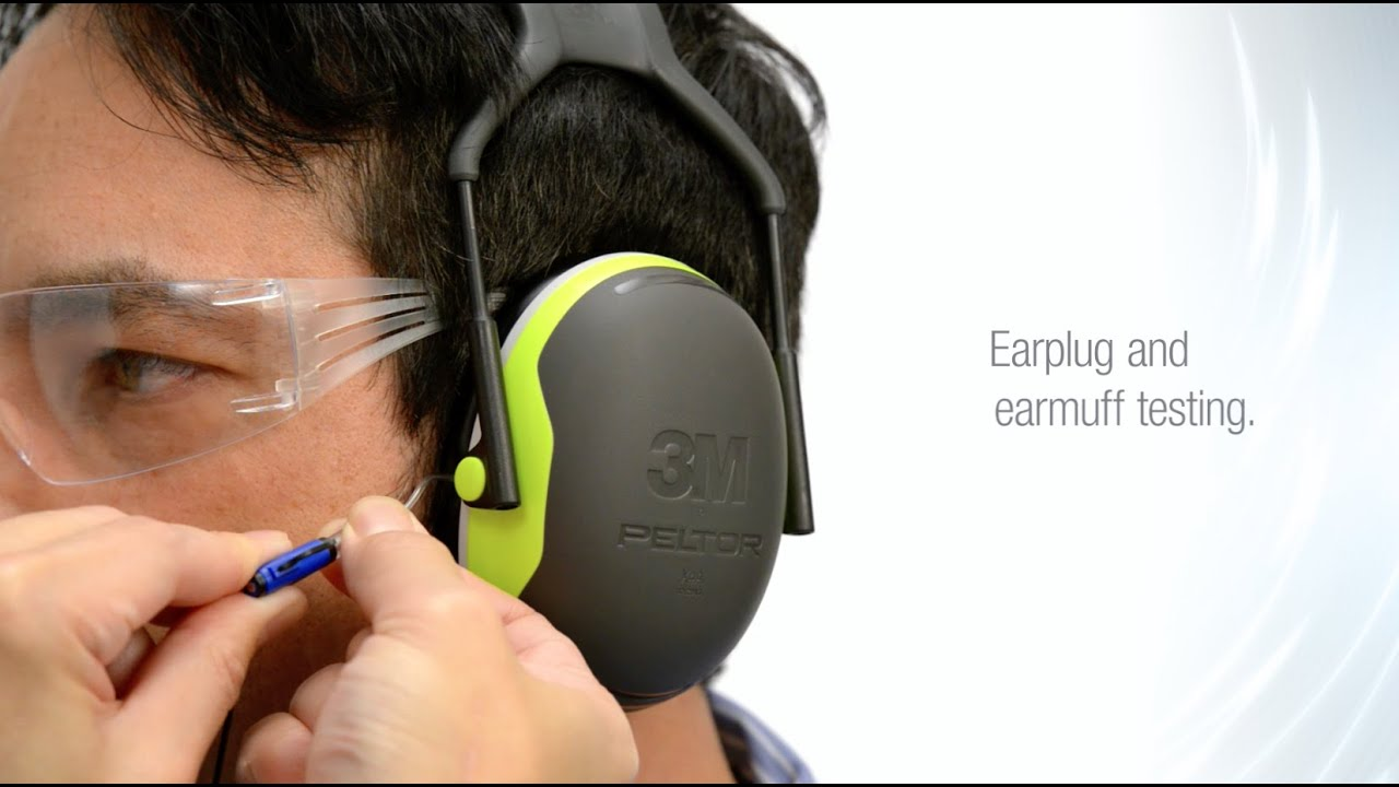 Hearing Protection with 3M EARfit Dual-Ear - YouTube