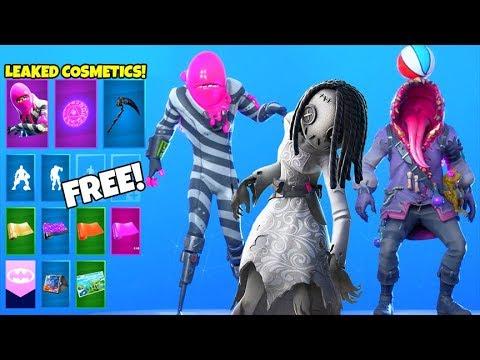 *NEW* Skins & Emotes..! (FREE Reward,  OG Ghoul Trooper, Big Mouth LEAKED) Fortnite Battle Royale