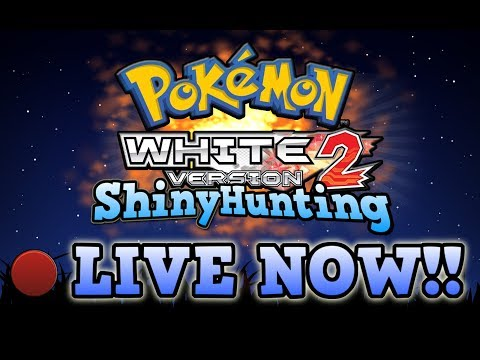 Pokémon White 2 Shiny Hunting! LET'S HIT 11K SUBS! Come join!