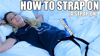 All About Strap Ons --  Lesbian Sex 101 [ Episode 5 ]