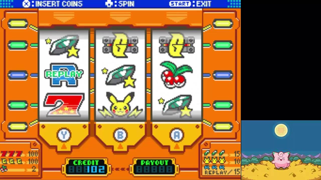 Pokemon gen 1 slot machine
