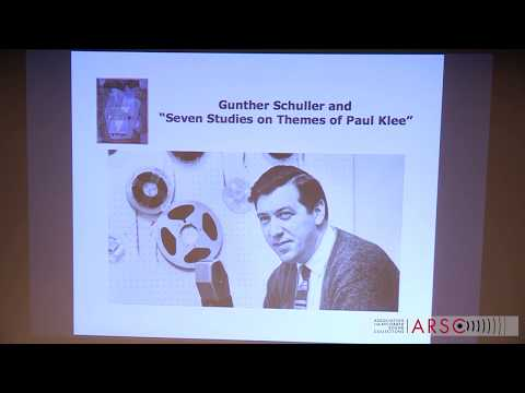 An Interview with Gunther Schuller on his Seven Studies on Themes of Paul Klee