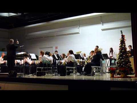 Menominee High School Band CHRISTMAS CONCERT 12-13-2012 - JOY TO THE WORLD
