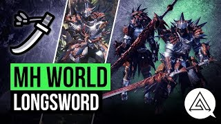 Monster Hunter World | New Long Sword in Depth Gameplay