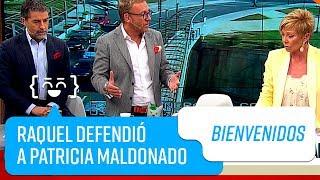 Raquel Argandoña defendió a Patricia Maldonado    Bienvenidos