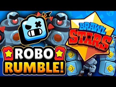 ZAPUCAVAM BOSA U ROBO RUMBLE | Brawl Stars