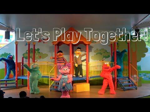 Let's Play Together 2017 | Sesame Place | Sesame Street