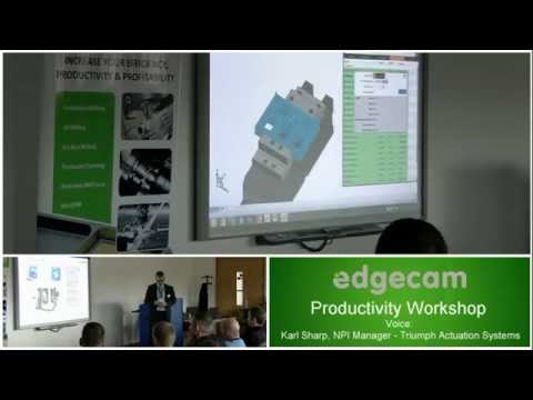 Den Workshopů Edgecam 2015 v SGS