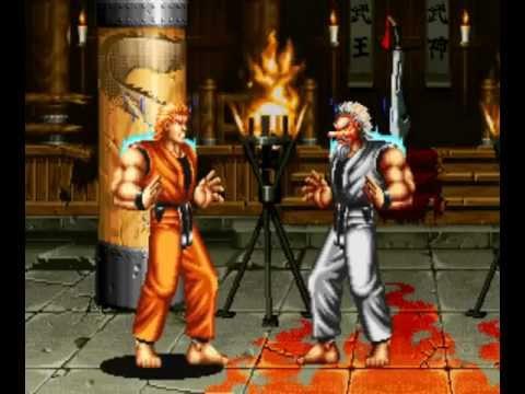 Art of Fighting (Arcade) Playthrough as Ryo Sakazaki